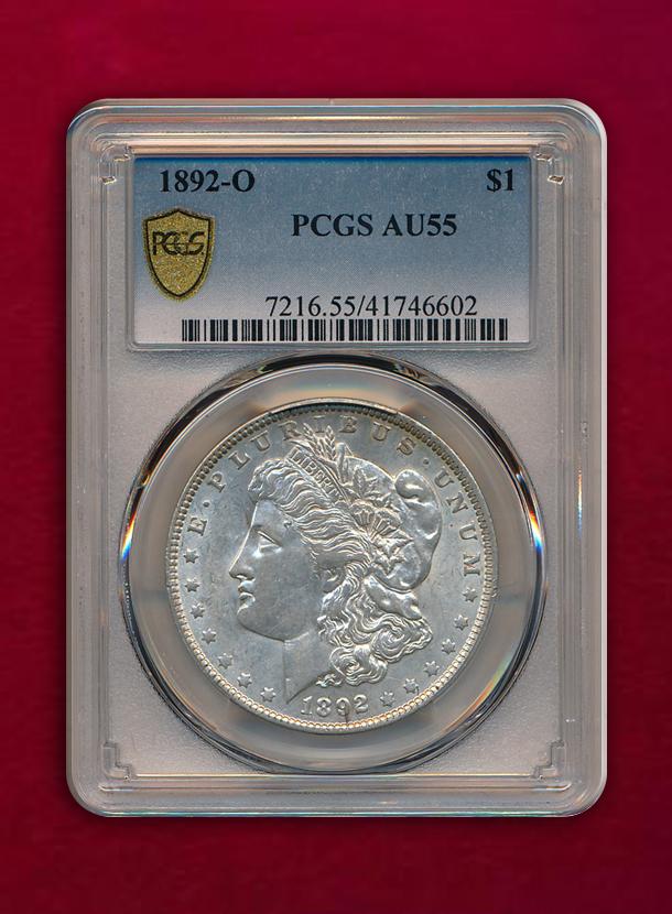 【U.S.A 】Dollar  1892-O