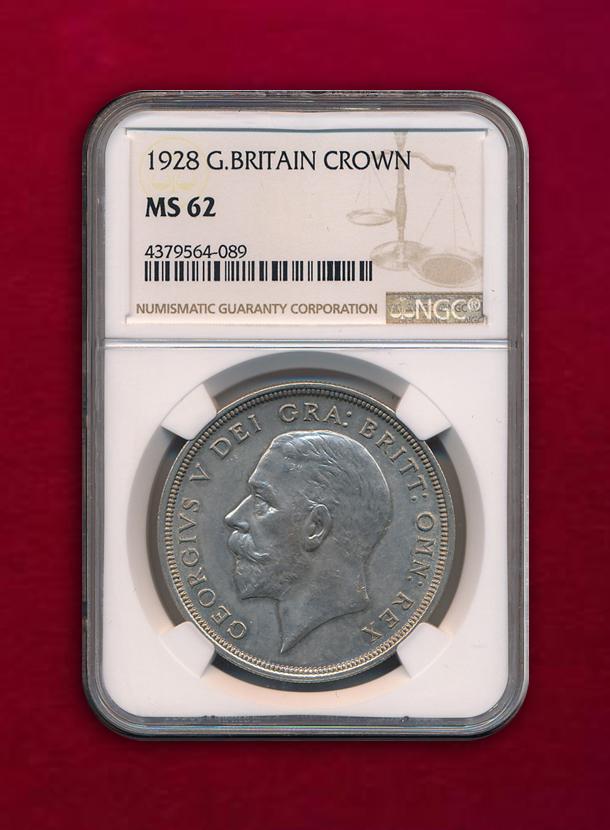 【イギリス】Crown 1928 ジョージ5世