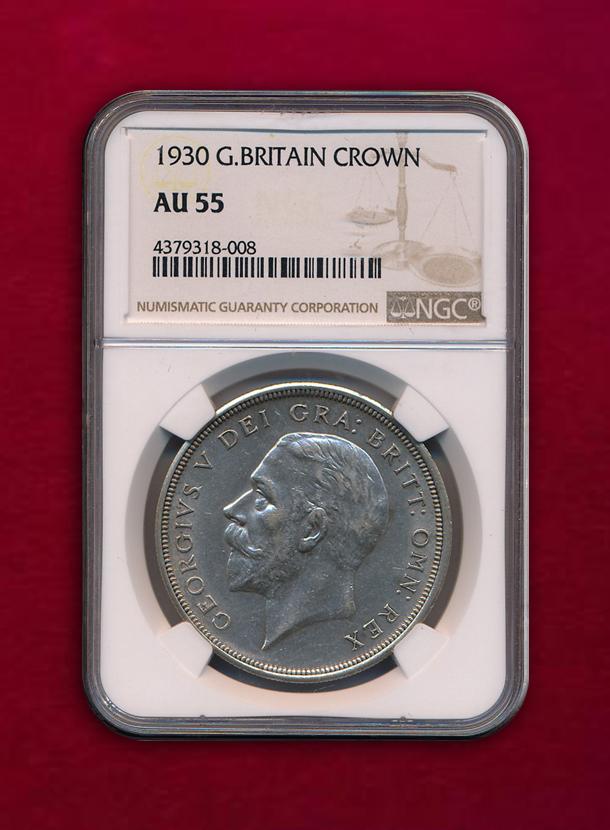 【イギリス】Crown 1930 ジョージ5世