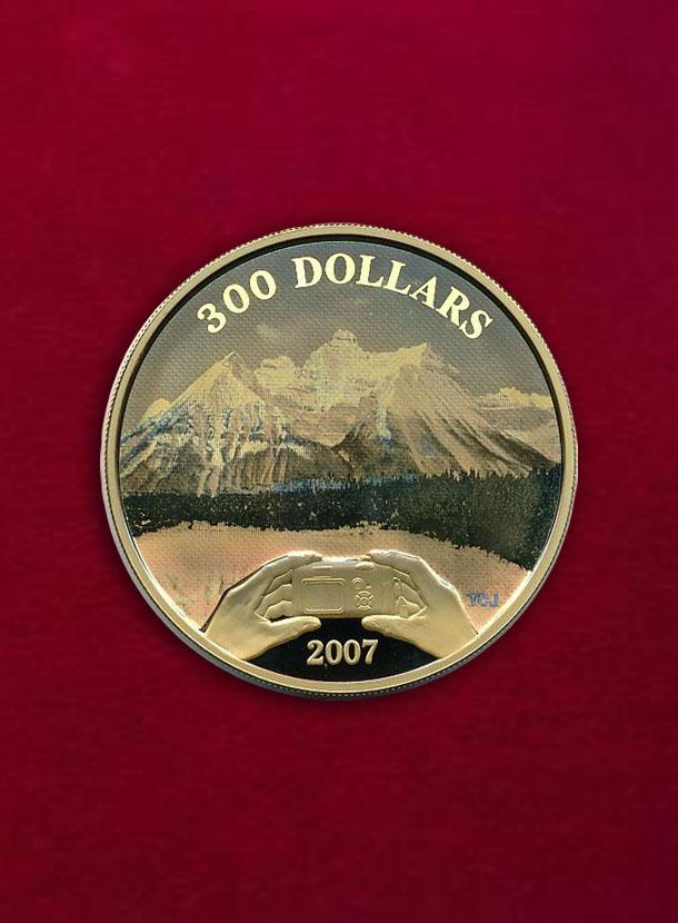 【カナダ】300 Dollars 2007 カナディアンロッキー