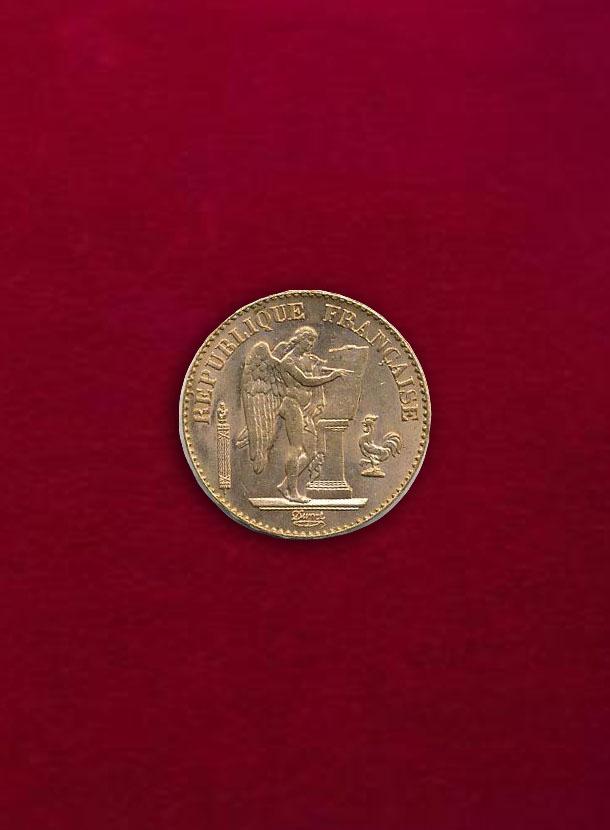 【フランス】20 Francs 1897