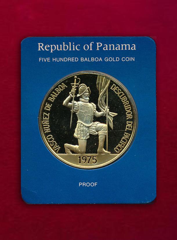 【パナマ】500 Balboas 1975