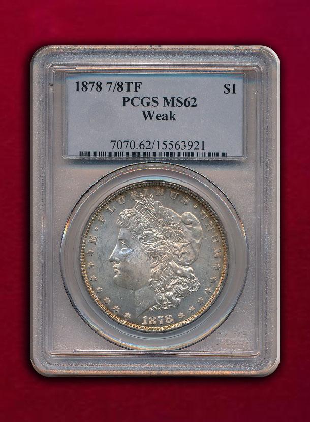 【USA】Dollar 1878 7/8TF
