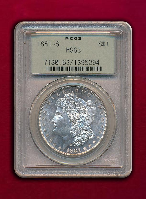 【USA】Dollar 1881-S