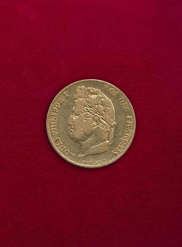 【フランス】20 Francs 1839-A ルイ・フィリップ1世