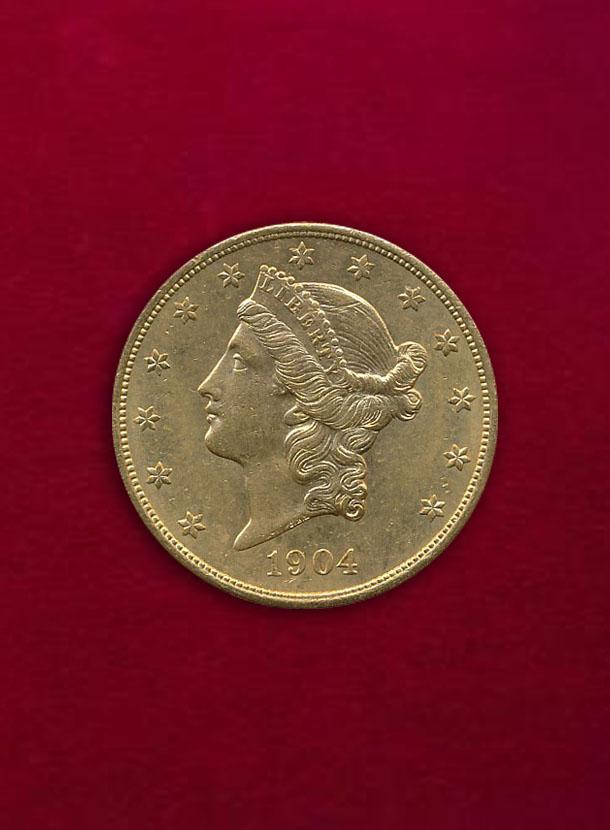 【U.S.A】20 Dollars 1904