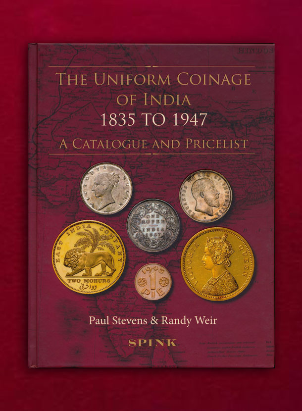 THE UNIFORM COINAGE OF INDIA 1835 to 1947 スピンク社刊