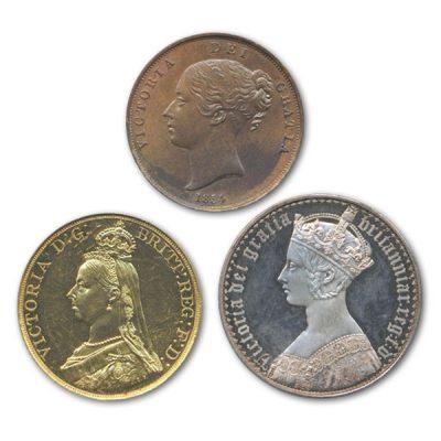 高価買取のイギリスコイン