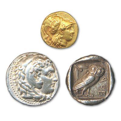 高価買取の古代コイン