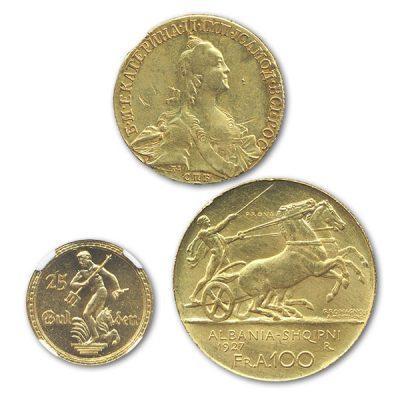 高価買取の東ヨーロッパコイン