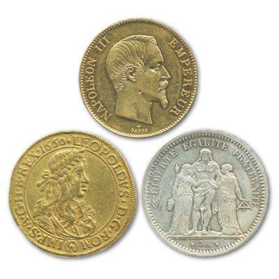 高価買取の西ヨーロッパコイン
