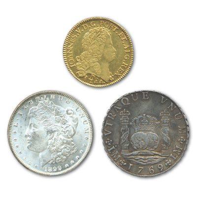 高価買取の南北アメリカコイン